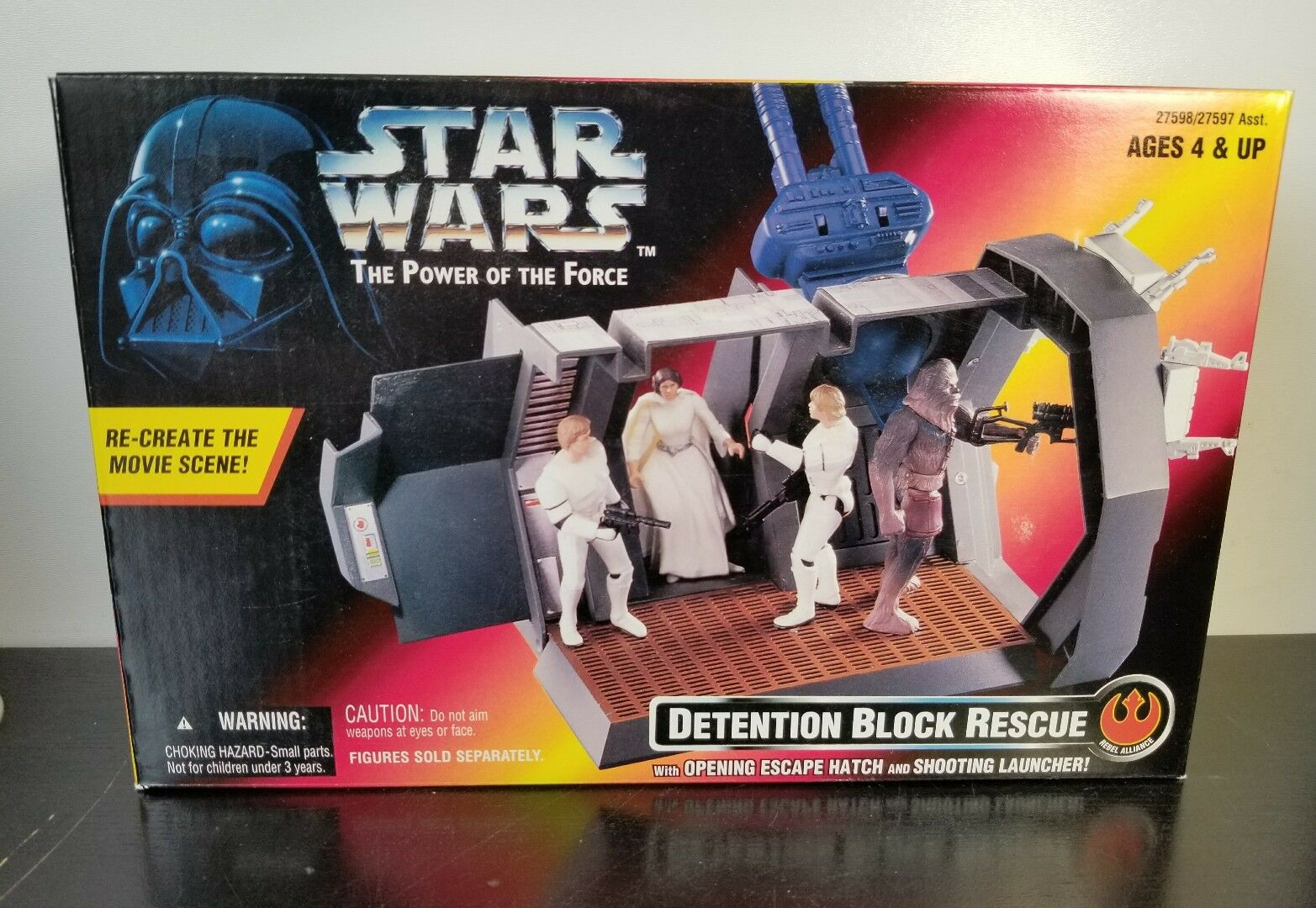 STAR WARS  POTF DETENTION BLOCK RESCUE  NEW IN BOX from 1996 - Free Shipping