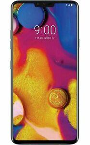 """LG V40 ThinQ V405 6.4"""" 64GB Android T-Mobile GSM Unlocke Smartphone Aurora Black"""
