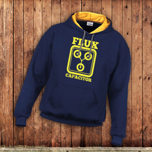 inspired by the Back to the Future movies Delorean Time Flux Capacitor Hoody