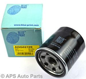Kia-Carens-Picanto-Rio-1-0-1-1-1-3-1-5-1-8-Filtro-De-Aceite-Azul-motor-de-impresion-adg02109