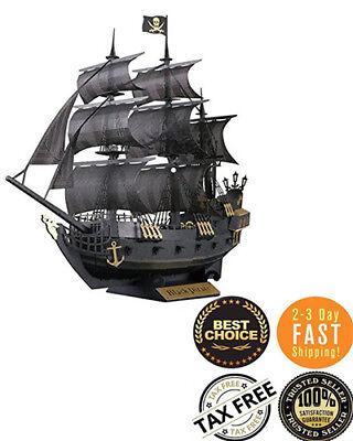16006 804Pcs Pirates Movie Jack Black Pearl Ship Building Blocks Children Toys