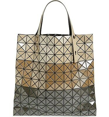 Bao Bao Issey Miyake Prism Large Tote Bag Handbag Japan Color Block Beige New 4548482686931 Ebay