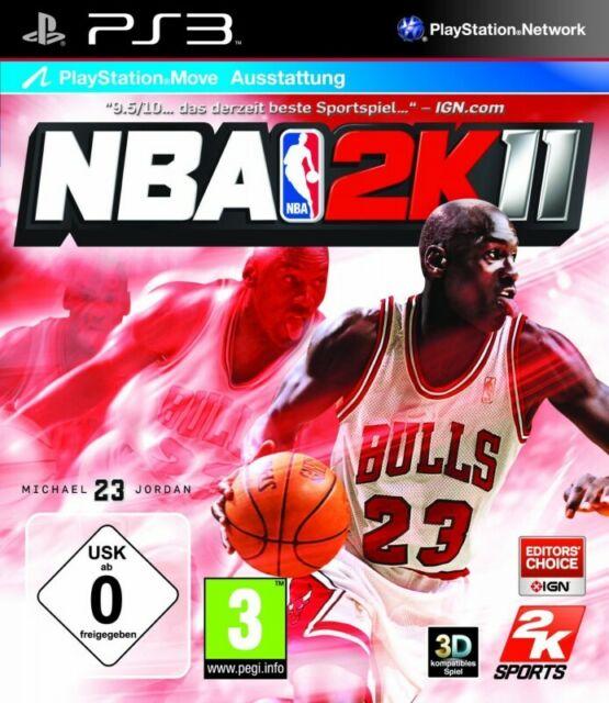 PS3 / Sony Playstation 3 jeu - NBA 2K11 AL/ANG dans l'emballage utilisé