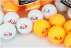 50pcs New 3-star 40mm Olympic Table Tennis Balls Ping pong Balls orange @ white
