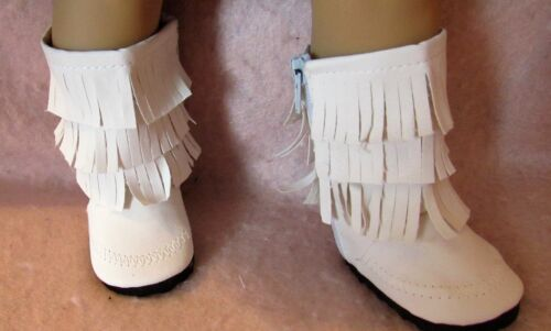 White Flowers Sandals fit American Girl Doll 18 Inch Clothes Seller lsful