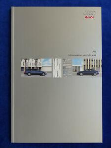Audi-A6-Limousine-Avant-quattro-Typ-C5-MJ-2003-Prospekt-Brochure-11-2002