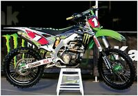 Motocross Poster Monster Energy Kxf450 Ryan Villopoto Pro Circuit Thor Mx Moto-x