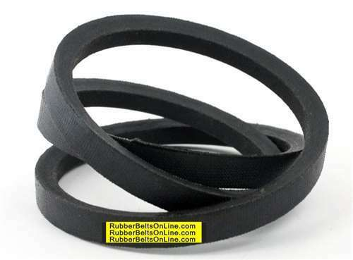 "V Belt A58 Top Width 1//2/"" Thickness 5//16/"" Length 60/"" inch 5-FT Feet Long 4L600"