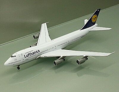 Witty Wings Apollo 1/400 Lufthansa Boeing 747-200 D-ABYR die cast model