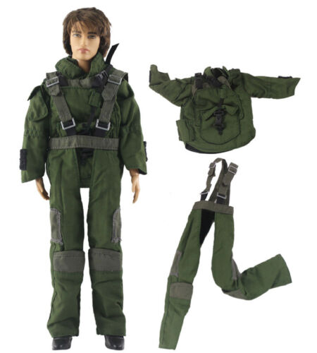 Fashion Outfits//Clothes//Uniform Tops+Pants For 12 inch Ken Doll B39