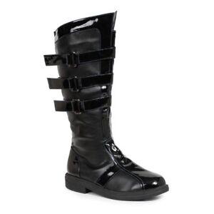Mens-Black-Darth-Vader-Star-Wars-Kylo-Ren-Dark-Knight-Batman-Boots-9-10-11-12-13