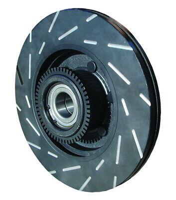 Brake Rotors FULL KIT ELINE DRILLED SLOTTED /& PADS-Fits IMPREZA 05-07 WRX STI