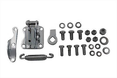 Chrome Kickstand Bracket Kit for Harley Knucklehead Panhead Shovelhead Evolution