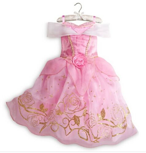 Girls Fairytale Princess Dress Kids Fancy Costume Dress Outfit 2-10 Years Xmas