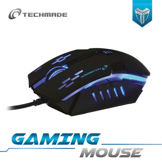 TECHMADE MOUSE GAMING USB 2400DPI TM-PG-20