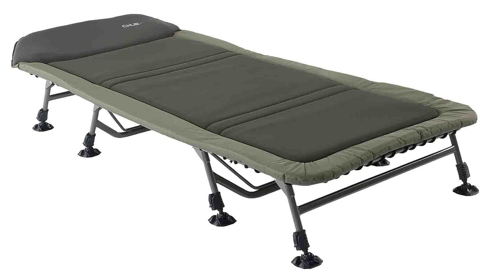 Chub Vantage Flatbed Wide 8 Leg Lightweight Carp Fishing Folding Bedchair