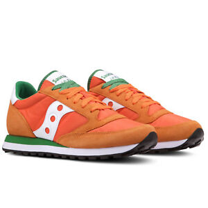SCARPE SNEAKERS SAUCONY JAZZ UOMO ORANGE / WHITE ART. 2044445