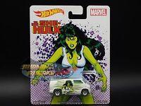 Marvel The Savage She Hulk 1977 Dodge Van 2017 Hot Wheels Real Riders Case J