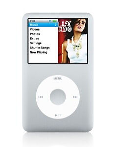 Apple Ipod Classic 7th Generation Silver 120 Gb For Sale Online Ebay