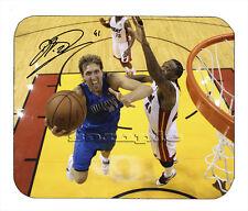 Item#2138 Dirk Nowitzki Dallas Mavericks Facsimile Autographed Mouse Pad