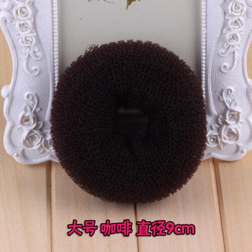 Magic Blonde Donut Women Hair Ring Bun Former Shaper Hair Styler Maker Tool Gift