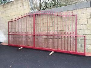 Nouvel portail coulissant en fer forgé   eBay PK-54