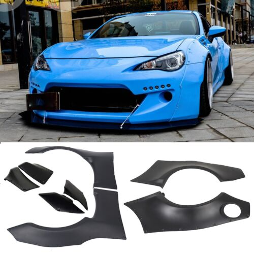 For 13-16 Scion FRS /& 13-17 Subaru BRZ GR Style Fender Flare ABS Cover