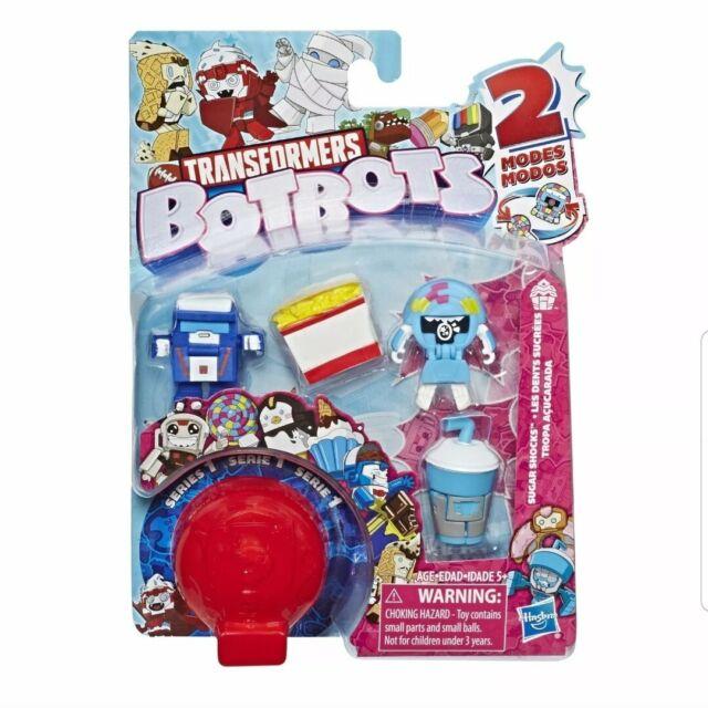 Mystery 2-in-1 Collect Transformers BotBots Toys Series 1 Toilet Troop 5-Pack