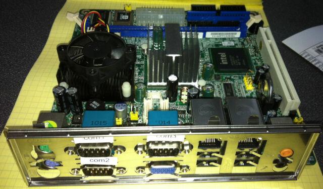 AXIOMTEK SBC86807 Ver 2.0 Half Size Intel Dual LAN Industrial Board w/1.6GHz I/O