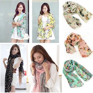 HOT-SALE-Women-Fashion-Pretty-Long-Soft-Chiffon-Scarf-Wrap-Shawl-Stole-Scarves