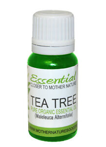 TEA-TREE-Organic-Essential-Oil-10ml-100ml-100-Pure-Aromatherapy-Natural-MNG