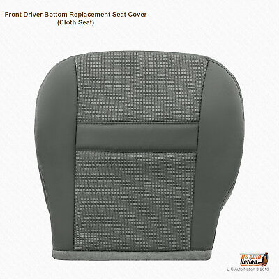 Dodge Ram 2500 Seat Covers >> 2007 2008 Dodge Ram 1500 Driver Bottom Replacement Cloth ...