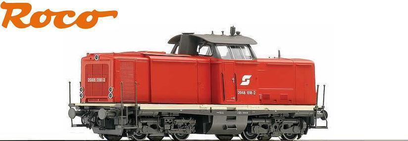 Roco H0 68823 Locomotiva Diesel Rh 2048 018-2 Della ÖBB   Ac per