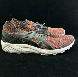ASICS-GEL-Kayano-Trainer-Knit-Casual-Training-Shoes-Black-Mens-SIZE-8