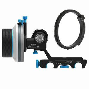 FOTGA-DP500III-Quick-Release-A-B-Hard-Stop-Follow-Focus-15mm-Rod-DSLR-Camera-Rig