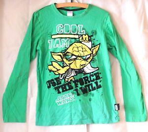 Star Wars Meister Yoda Pullover langärmliges Jungen Kinder Sweatshirt 146 / 152