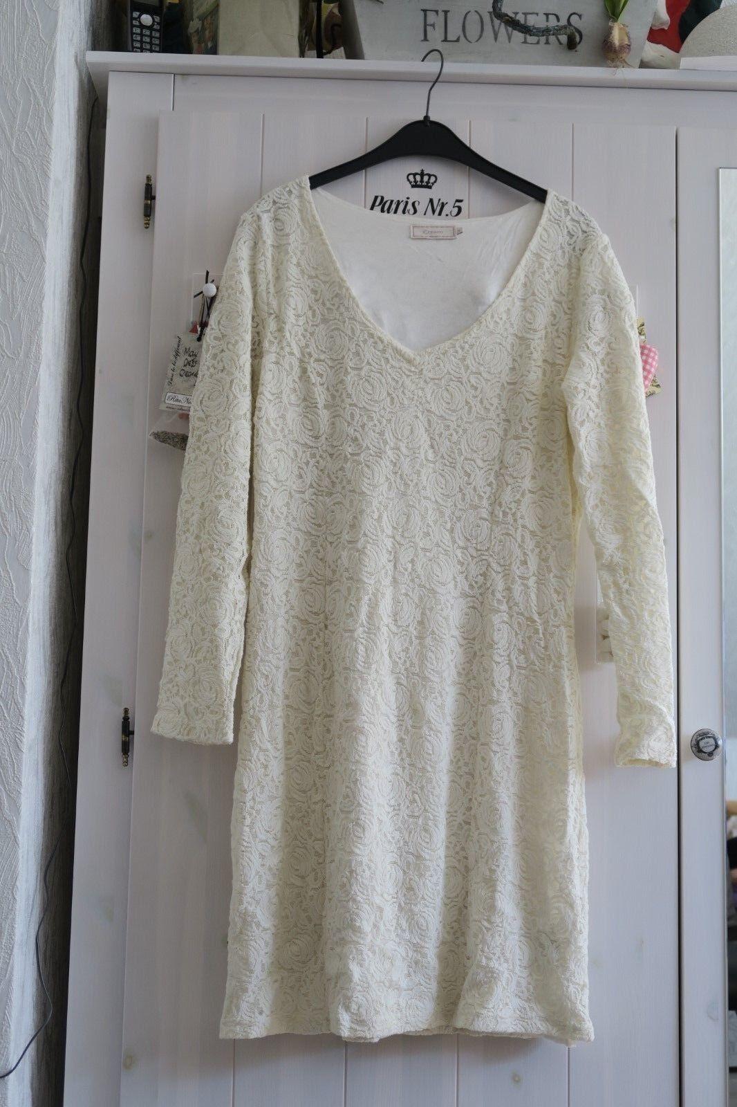 Tunika, Kleid von CREAM, Gr. XL, Wollweiß, Neu - ein Traum