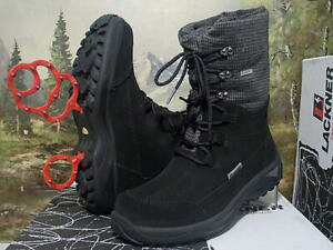 Lackner Stiefel mit Sympa Tex Membran Winterschuhe schwarz Gr. 42 7682  Neu7