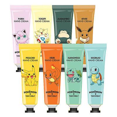 TonyMoly Pokemon Hand Cream 30ml 8 type - Korea cosmetic