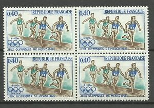 France-Sport-Jeux-Olympique-Mexico-Summer-Olympics-Games-4-X-100M-Relay-1968