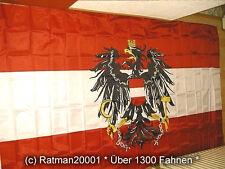 Fahnen Flagge Österreich mit Wappen - 2 - 150 x 250 cm