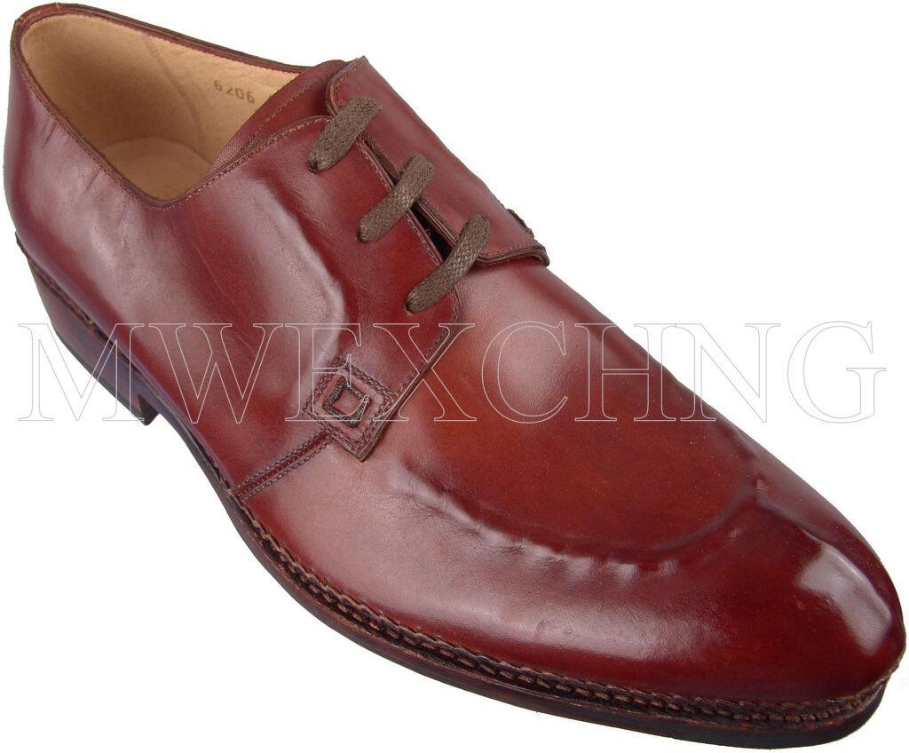all'ingrosso a buon mercato AUTHENTIC ZENOBI ZENOBI ZENOBI MOC TOE OXFORDS ITALIAN DESIGNER Uomo scarpe NEW EU 40  sconti e altro