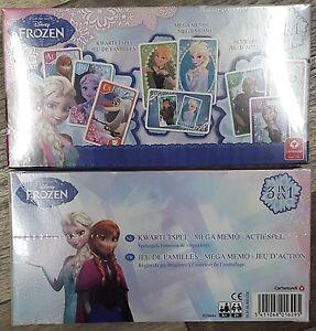 3-Kartenspiele-Disney-Die-Eiskoenigin-Frozen-Kartenspiel-Mega-Memo-Actionspiel