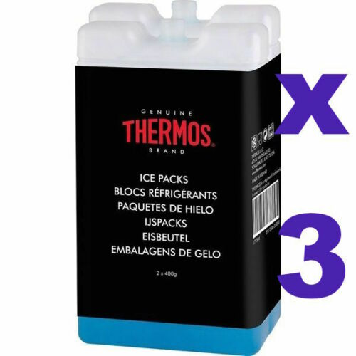 6004 3 x Thermos Ice Pack    2 x 400g