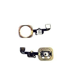 Haupt Knopf für iPhone 6 Menü Navigation Home Button Main Key Flex GOLD