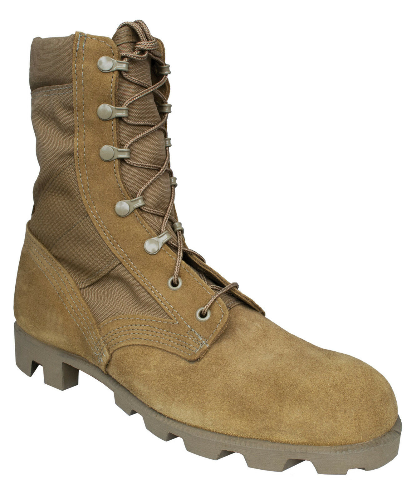McRae Footwear 8190 8  Suede Hot Weather Coyote Tan Panama Military Combat Stiefel