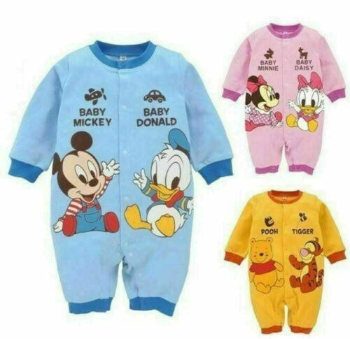 Newborn Baby Boys Girls Animal Bodysuit Outfit Costume Romper Cotton Clothes Hot
