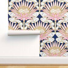 Wallpaper Roll Art Deco Modern Nouveau Geometric Watercolor 24in x 27ft