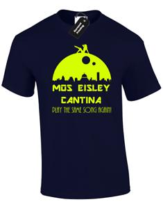 MOS EISLEY CANTINA MENS T-SHIRT STAR TROOPER STORM WARS HAN SOLO JEDI FAN DESIGN
