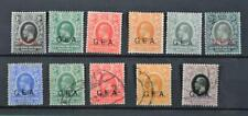 BRITISH EAST AFRICA STAMPS OVERPRINTED GER SELECTION OF 11 ON STOCK CARD  (B14)